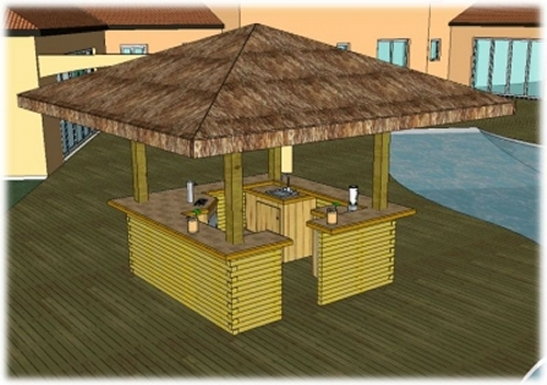 Outdoor Bar Plans Designs Free | DIY Woodworking